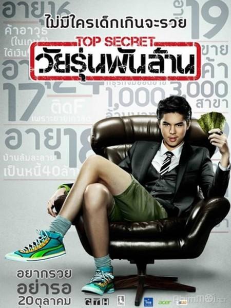 Thiếu niên bạc tỷ - Top Secret / The Billionaire (2011) | Bản đẹp Vietsub