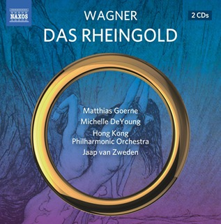 CD REVIEW: Richard Wagner - DAS RHEINGOLD (NAXOS 8.660374-75)