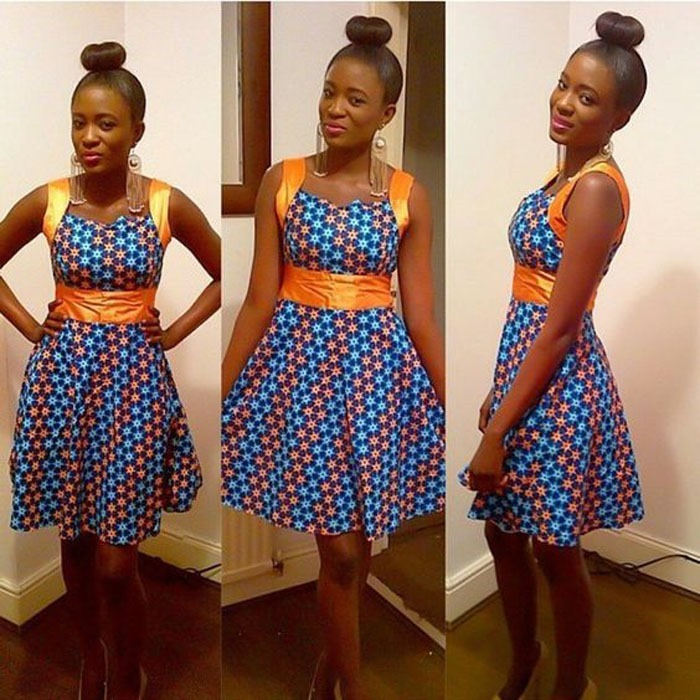 new short ankara gown styles (9)