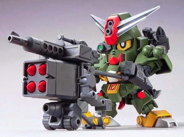 Command Gundam Legend BB-375 SD dễ dàng lắp ráp và mang theo trong giỏ