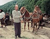 Romanian Farmer on a cattle market