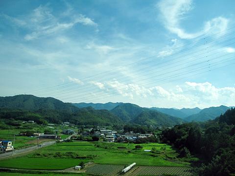富山地方鉄道「富山東京線」 ・705 車窓 その2