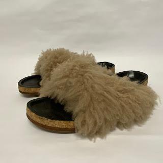 Chloé Wool Slides