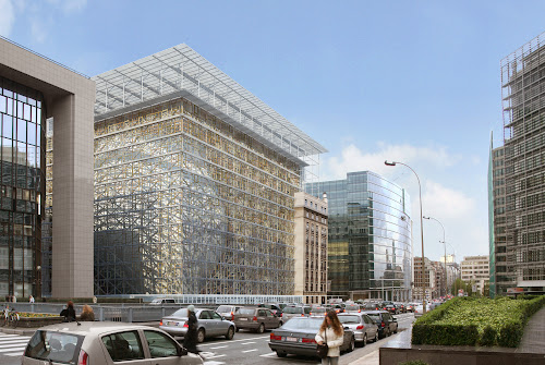 EUROPEAN UNION COUNCIL HEADQUARTER IN BRUSSELS Philippe SAMYN and PARTNERS architects & engineers, L