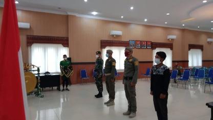 Aula Daulay Simorangkir Siap Digunakan Upaca Pembukaan TMMD ke111, Kodim 0212/TS