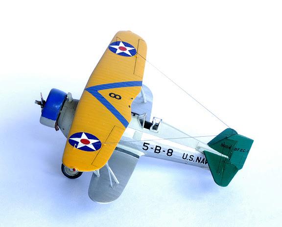 Curtiss BF2C Goshawk. Chasseur Bombardier... Furtif