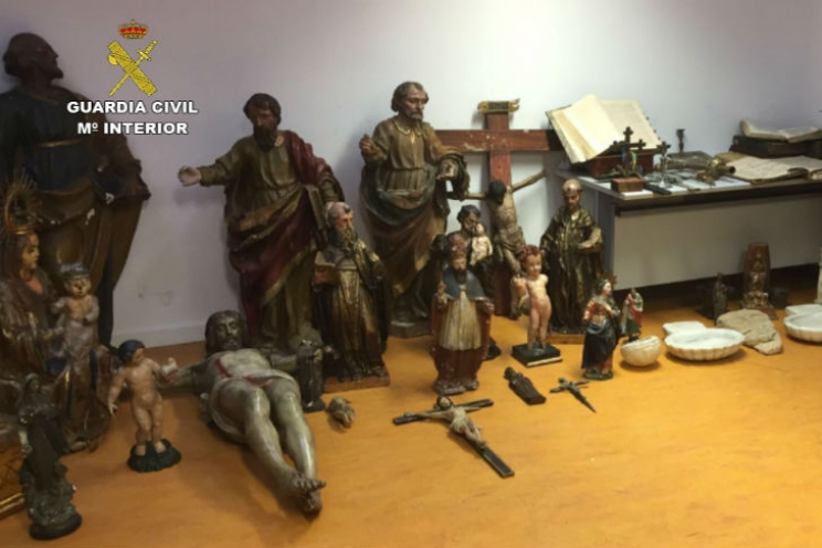 Southern Europe: Spanish police break up gang stealing valuable church antiques