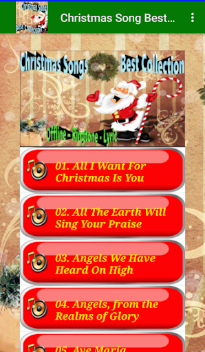 Free Christmas Songs Best Collection | Lyric 2.2 screenshots 3