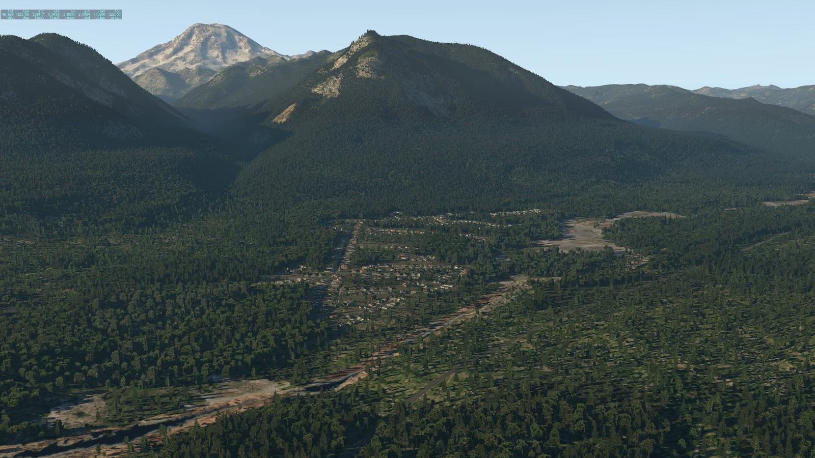 HD Mesh Scenery v4 (for X-Plane 11) - COMPARISON shots