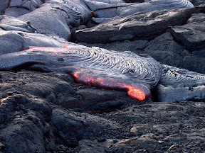 Lava flow, East Rift Zone 1