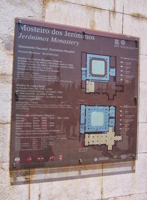Mosteiro dos Jerónimos (information in portuguese)