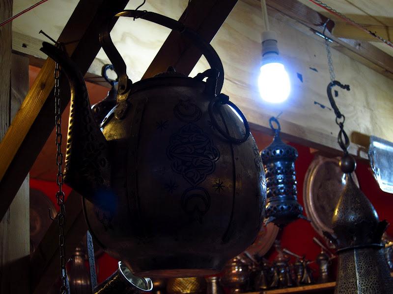 Handmade kettle