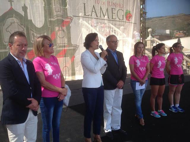 Marcha da Mulher Duriense angariou 1000 euros para a Liga Contra o Cancro