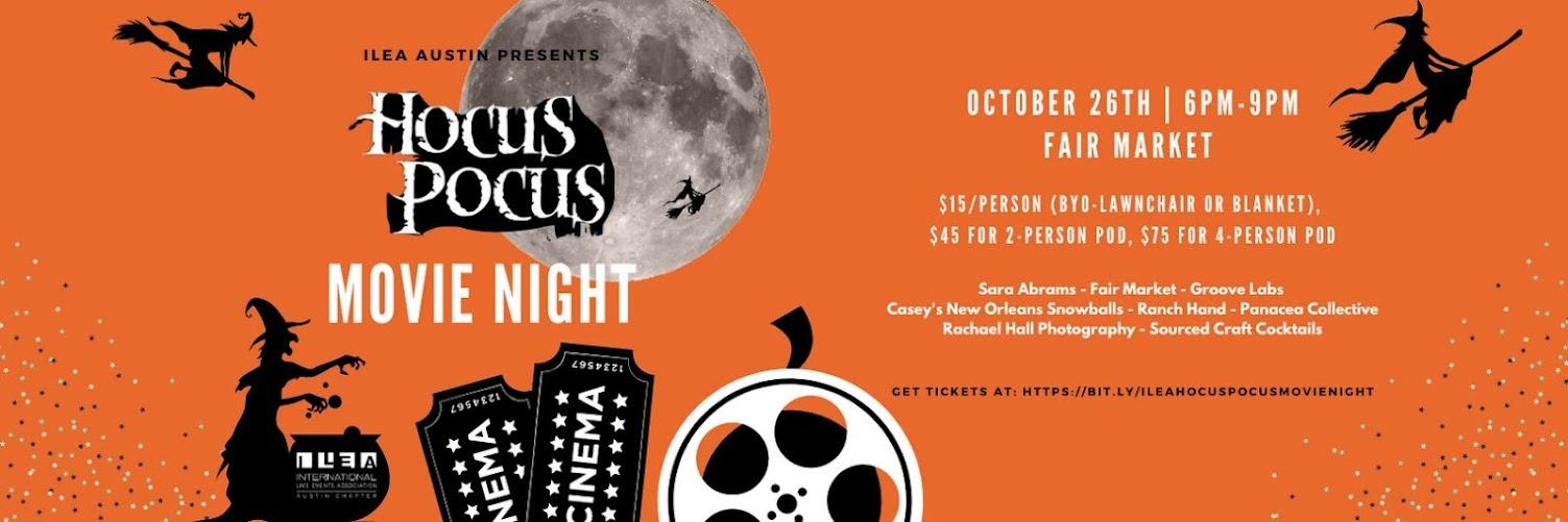 ILEA Presents: Hocus Pocus Movie Night!