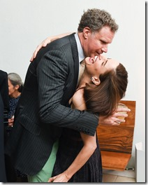 Will Ferrell, Amanda Peet, (wearing Bottega Veneta)