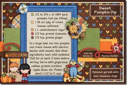 Sweet Pumpkin Dip-2014