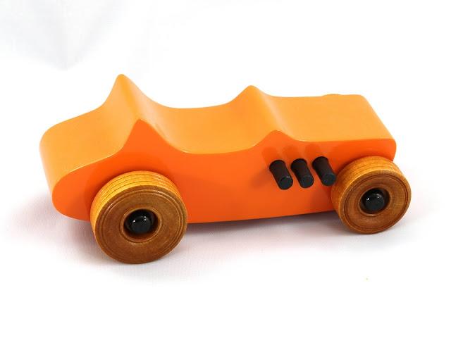 Handmade Wood Toy Car Hot Rod Feaky Ford T-Bucket