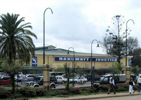Nakumatt supermarket in Nairobi, Nakumatt Junction branch.