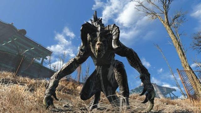 Fallout 4 ? So können Sie im neuen Wasteland Workshop DLC einen Deathclaw fangen