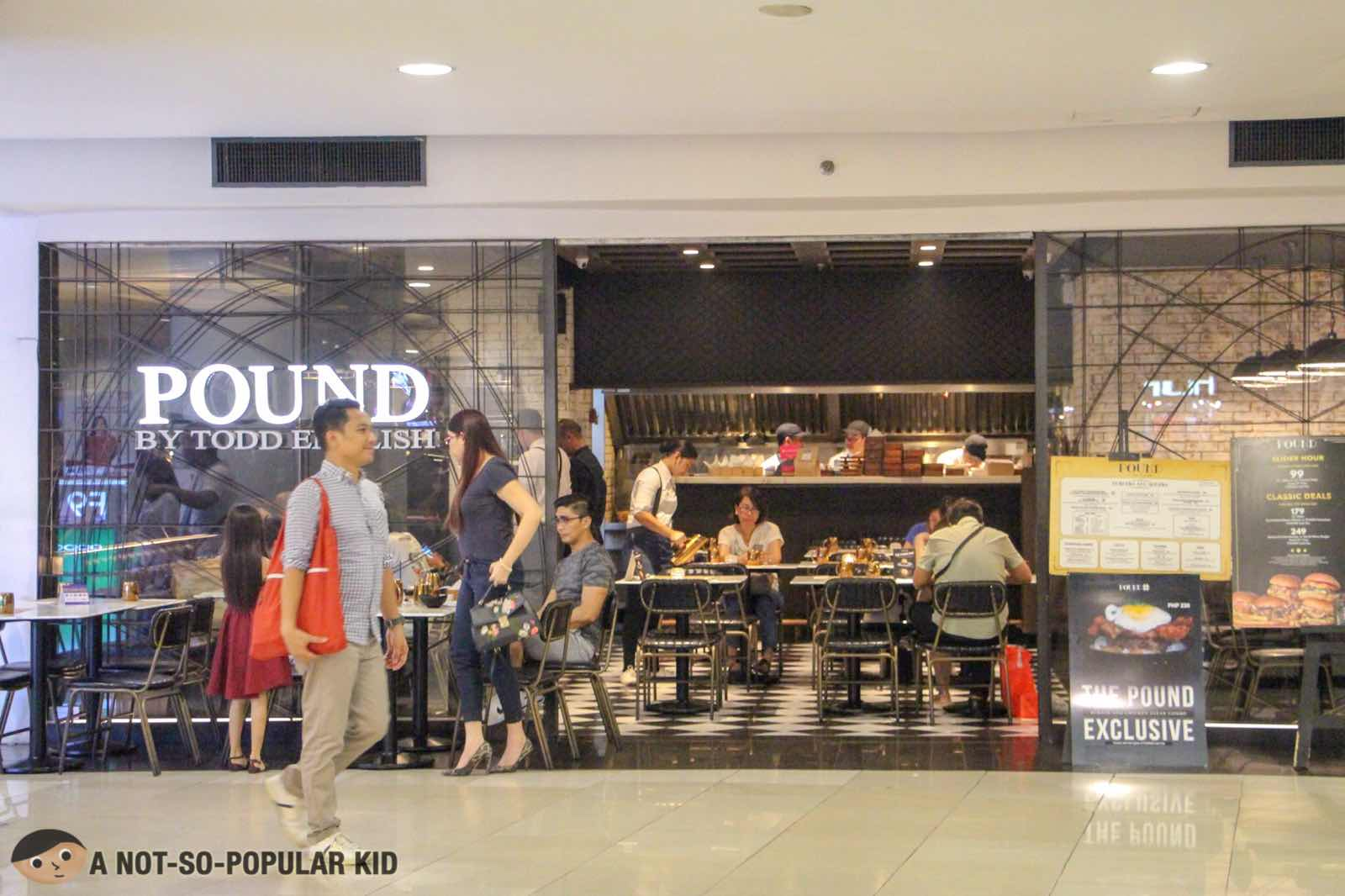 Pound by Todd English in Robinsons Ermita