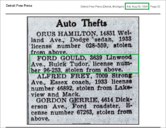 ANCESTORS IN THE NEWS ~ What and Who have I located in the Detroit Free Press?