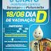 Crato: Dia D de vacinação contra Sarampo e Poliomielite será no próximo sábado, dia 18