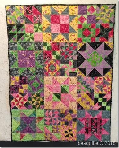 batik sampler quilt accuquilt