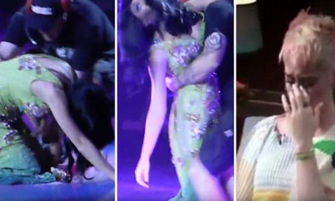 Katy Perry entra em colapso depois de perder o controle Mk-Ultra mente, e se torna viral