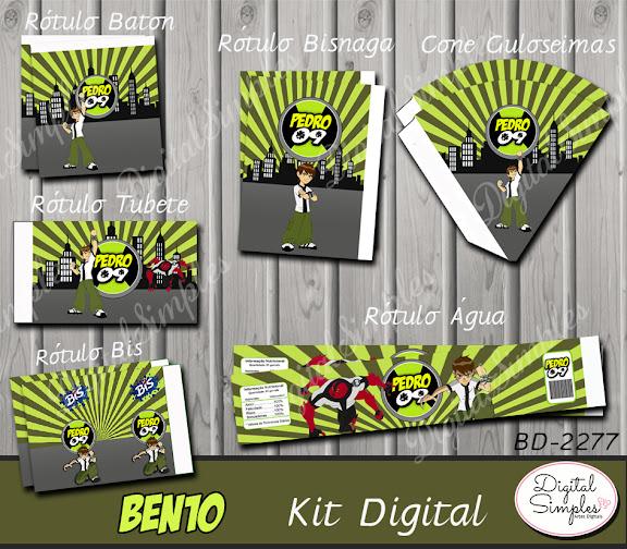 Kit Digital Ben10  .....artesdigitalsimples@gmail.com