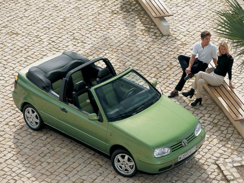 1998 Volkswagen Cabrio Convertible Specifications Pictures Prices