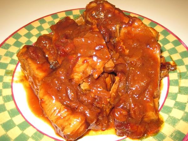Chipolte Honey Barbeque Ribs Recipe