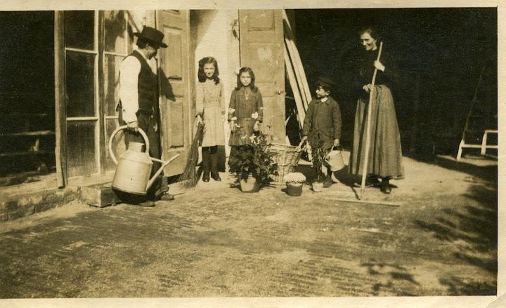 giure giuseppe 1867.1949, teresa 1908.1994, camillo 1910.1996, francesca pansecco 1884.1959 nel castello