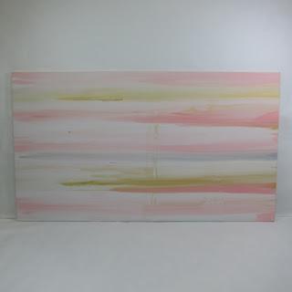 Pink Metallic Painting