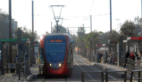 Straßenbahn in Casablanca - ein Jahr alt