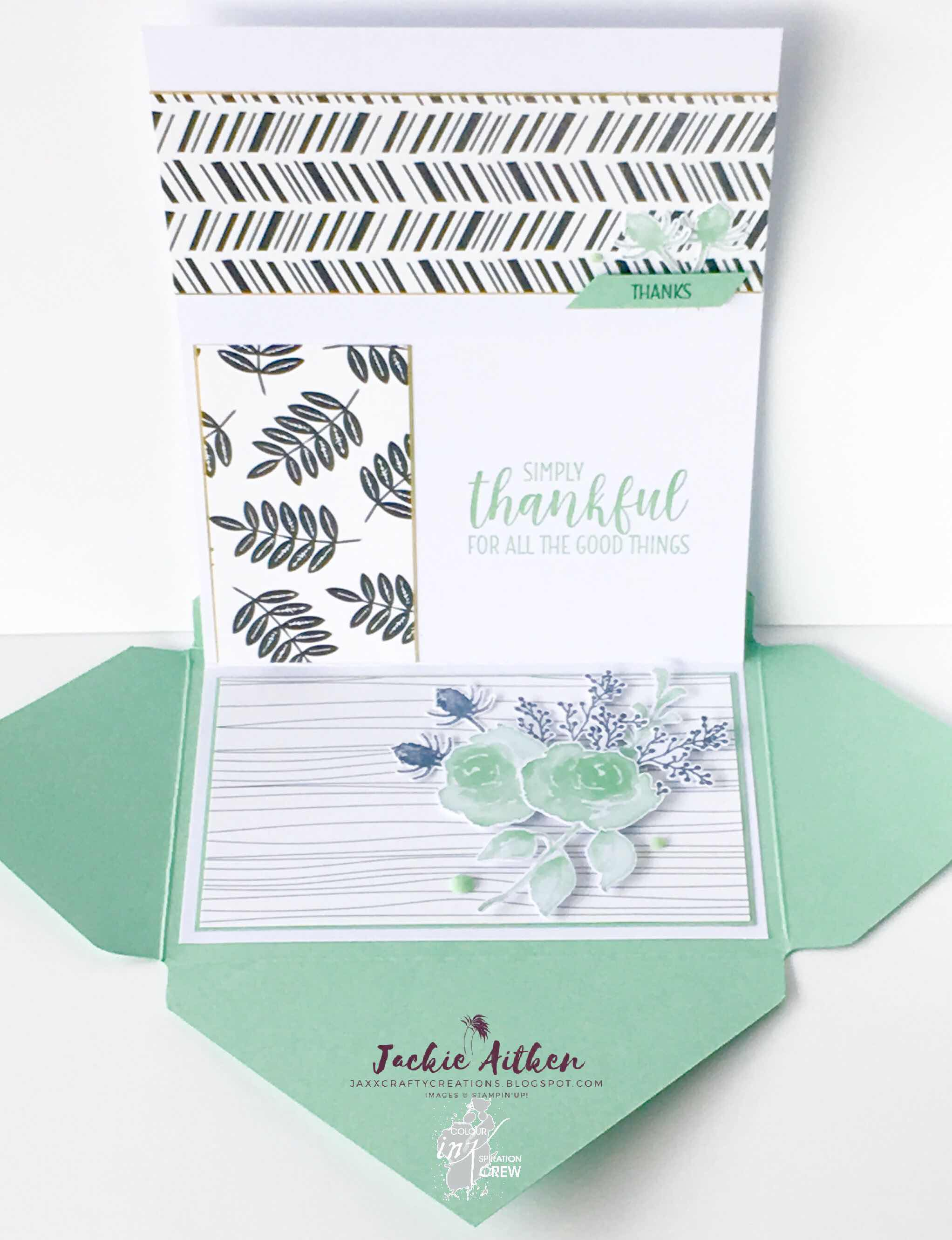 Stampin Up, First Frost Stamp Set, Tropical Escape, Floral Frames,