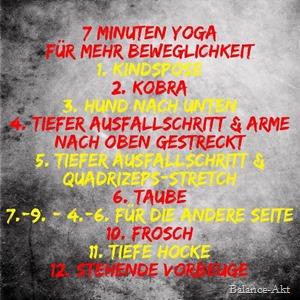 YogaBeweglichkeit