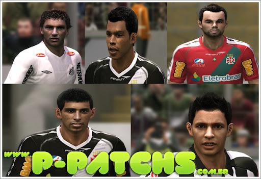 D.Souza, Alessandro, Bernado, Elano e Elkeson Faces - PES 2012