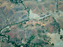 Another Madagascar village from the air.