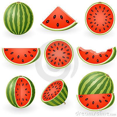desenhos melancias