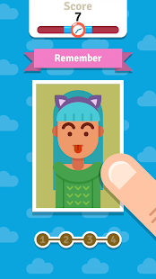 Guess Face - Endless Memory Training Game Screenshot