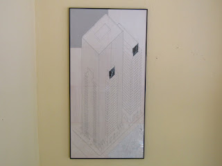Signed Architectural Drawing