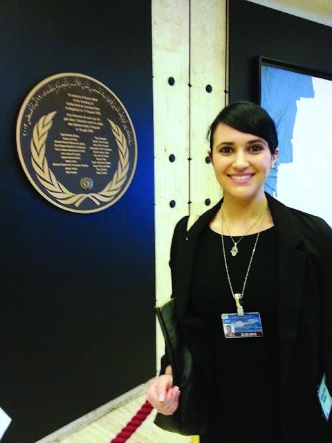 Representing Jewish students at the UN Human Rights Council