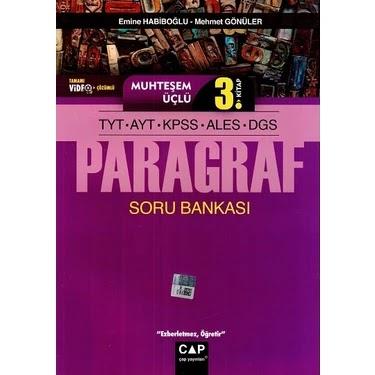 Çap Yayınlar - TYT Türkçe - Paragraf