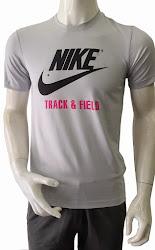 Áo thun thể thao nam cao cấp Nike Track & Field xám