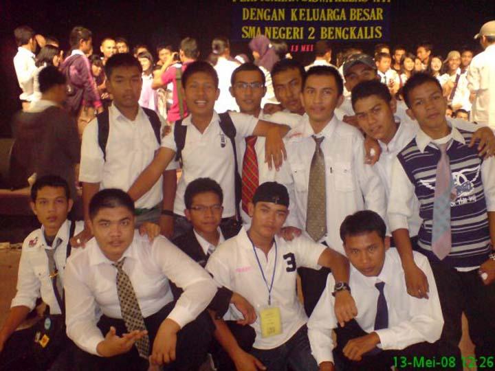 Perpisahan SMA 2 Bengkalis 2008