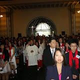 Firmung mit Weihbischof Ansgar Puff in der vietnamesischen Gemeinde