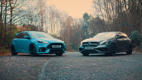 Mercedes a45 vs Focus rs