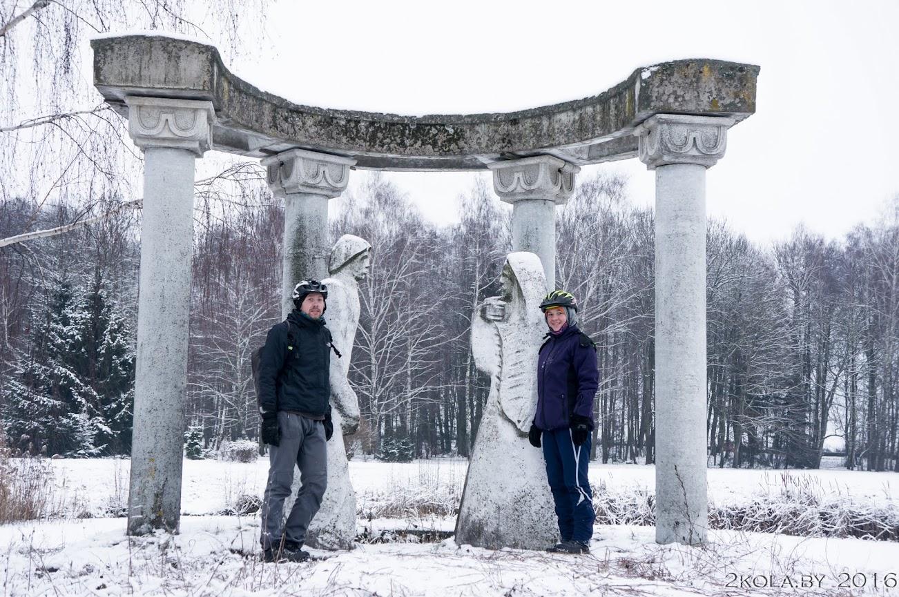 DSC08270 - Зимняя покатушка к резиденции Радзивиллов (Снов-Несвиж-Городея)