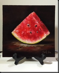 Watermelon easel 1