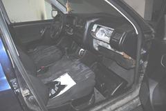 Κρύπτη εσωτερικά του οχήματος ΥΑ Σερρών